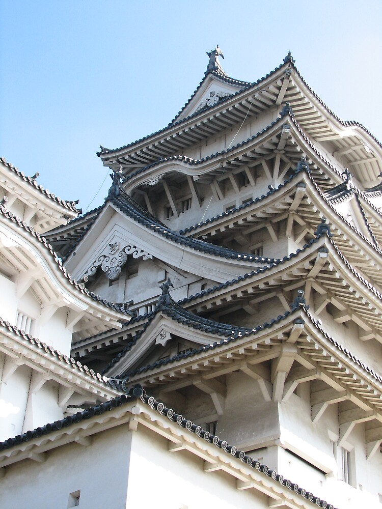 Himeji Castle by Grem