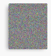 STATIC add noise white noise Canvas Print