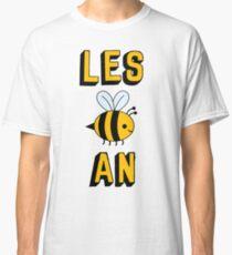 Camiseta clásica LES BEE UN LESBIANO