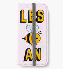 LES BEE AN LESBIAN iPhone Wallet/Case/Skin