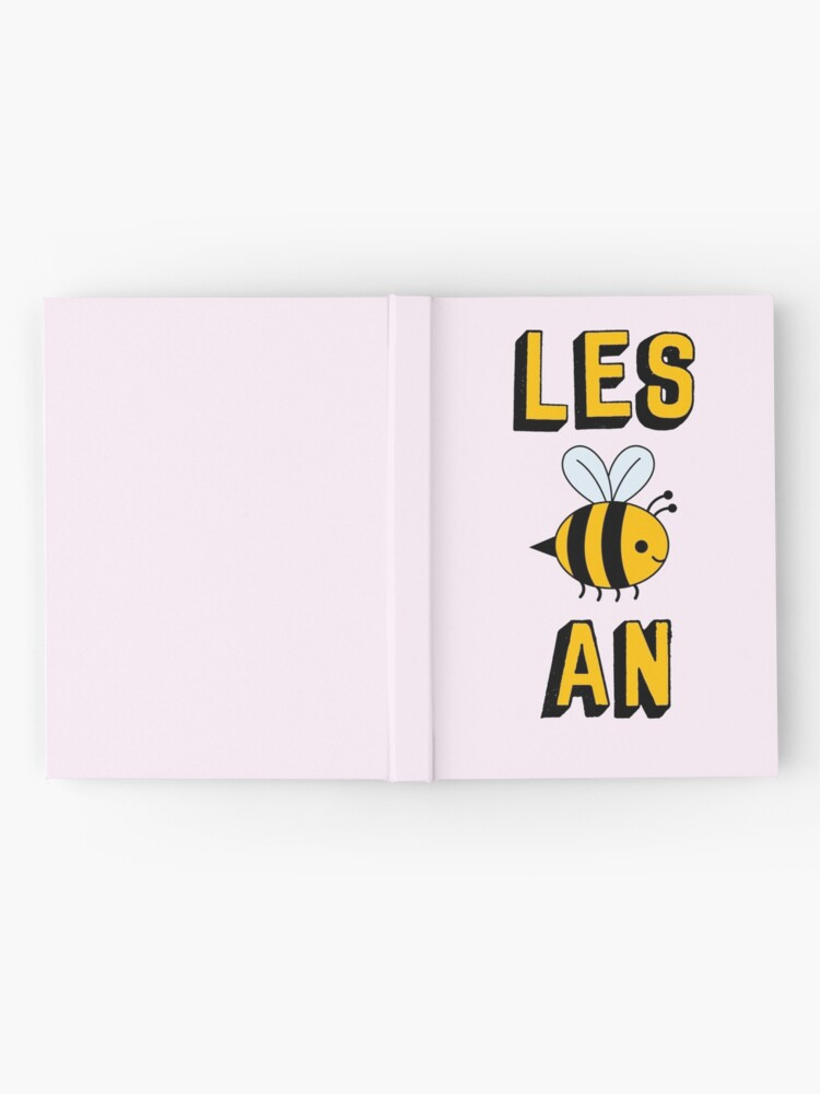 Alternate view of LES BEE AN LESBIAN Hardcover Journal