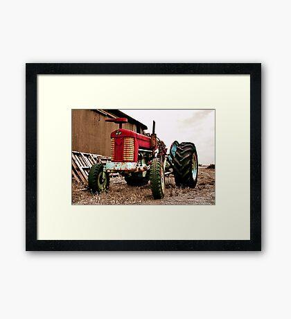 """""""The Massey Ferguson"""" Framed Print"""