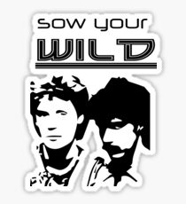 Sow Your Wild Hall & Oates Sticker
