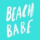 Beach Babe x Teal by Leah Flores