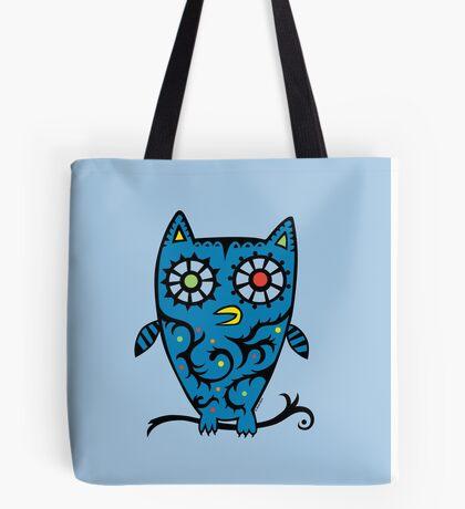 Tattoo Owl Tote Bag