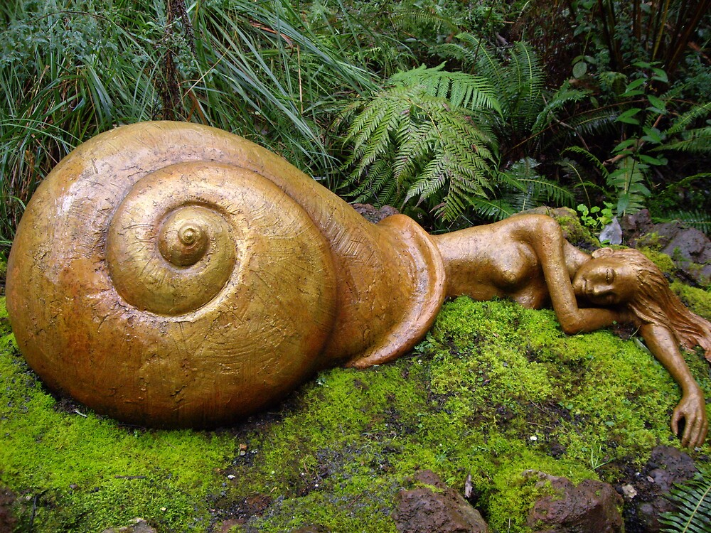Snail Maiden by RuthTatnell