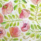 «Pink Poppies» de dotsofpaint