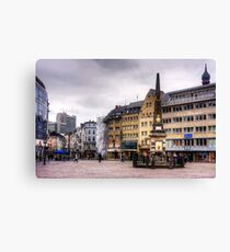 Bonn Market Square Canvas Print
