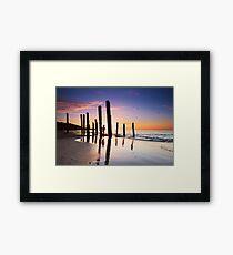 Port Willunga Sunset Framed Print