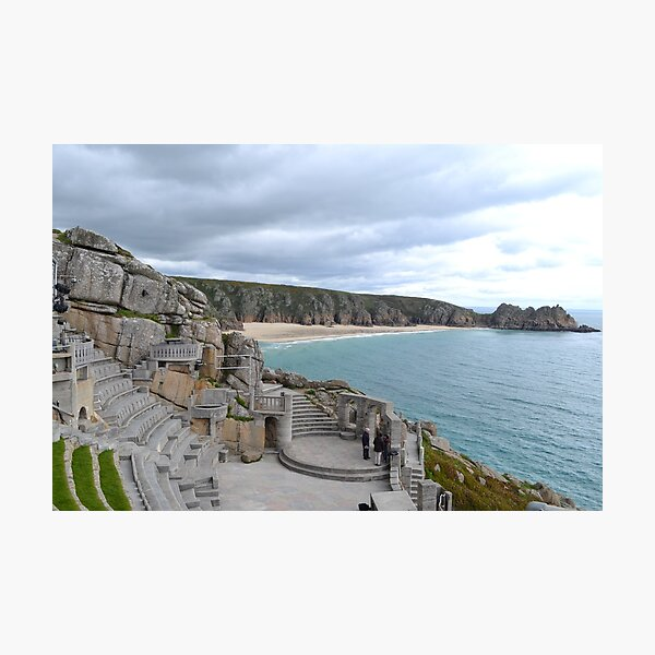 Minack Theatre , Porthcurno Cornwall-take 2 Photographic Print