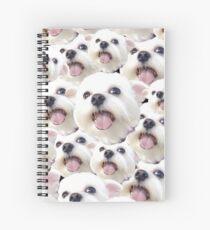 Happy Maltese Spiral Notebook