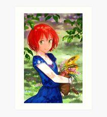 Shirayuki's Harvest Art Print