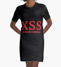 XSS (Cross-site scripting) Graphic T-Shirt Dress