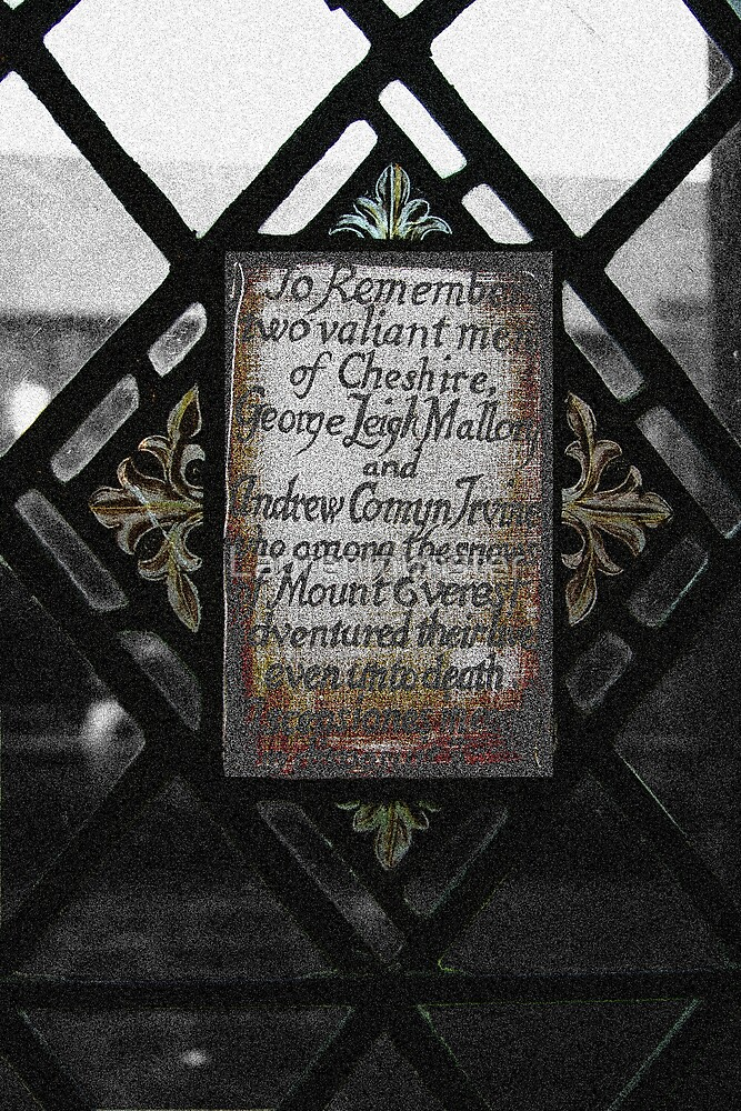 Window of Remeberence by Laurenmunster