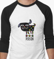 Dog Person Men's Baseball ¾ T-Shirt