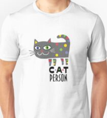 Cat Person Unisex T-Shirt