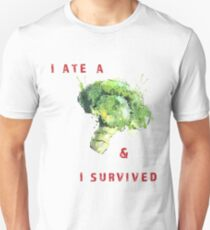 I ATE BROCCOLI  Unisex T-Shirt