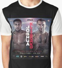 ANTHONY JOSHUA VS WLADIMIR KLITSCHKO OFFICIAL POSTER Graphic T-Shirt