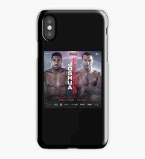 ANTHONY JOSHUA VS WLADIMIR KLITSCHKO OFFICIAL POSTER iPhone Case/Skin