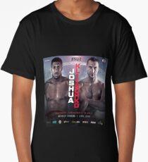 ANTHONY JOSHUA VS WLADIMIR KLITSCHKO OFFICIAL POSTER Long T-Shirt