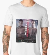 ANTHONY JOSHUA VS WLADIMIR KLITSCHKO OFFICIAL POSTER Men's Premium T-Shirt