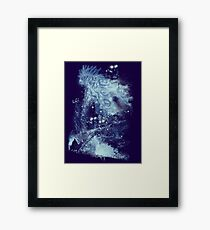 forest spirit rising Framed Print