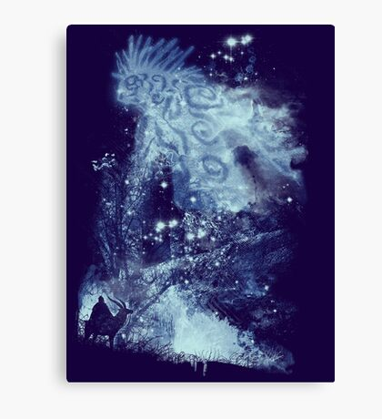 forest spirit rising Canvas Print