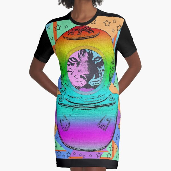 TIGER ASTRONAUT T-Shirt Kleid