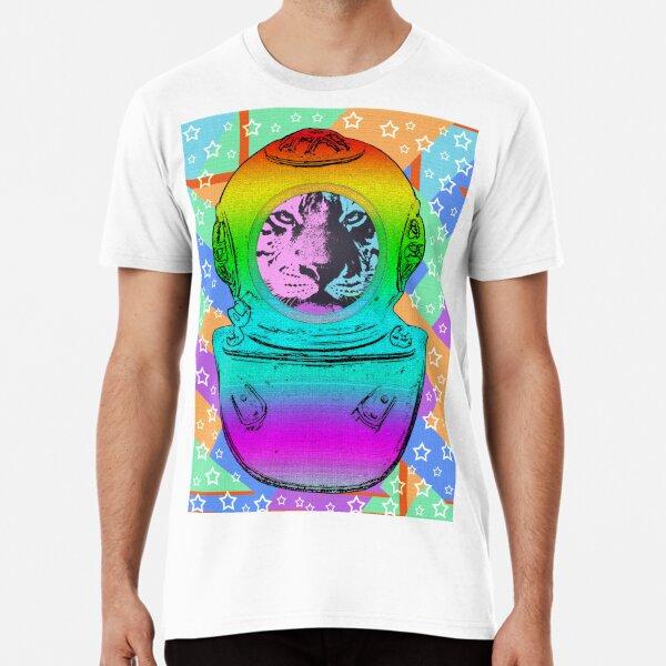 TIGER ASTRONAUT Premium T-Shirt