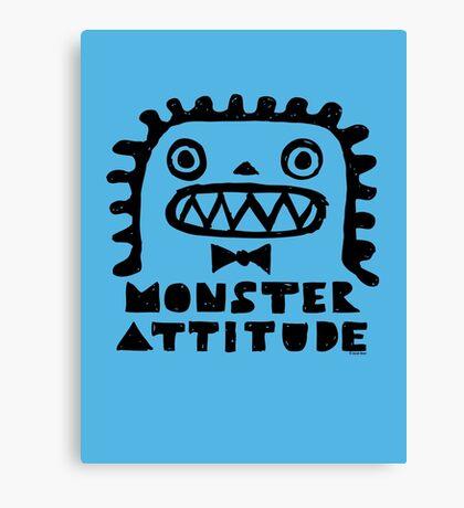 Monster Attitude Canvas Print
