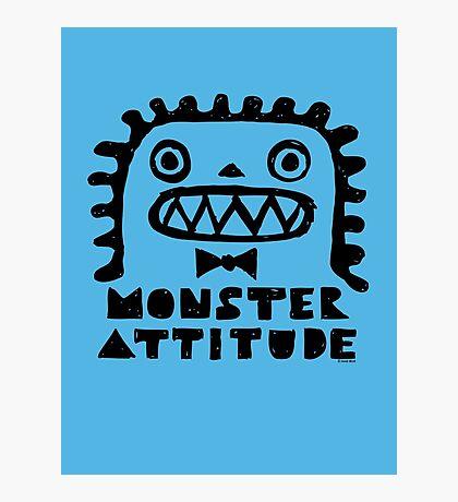 Monster Attitude Photographic Print