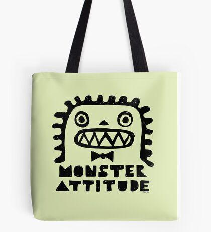 Monster Attitude Tote Bag