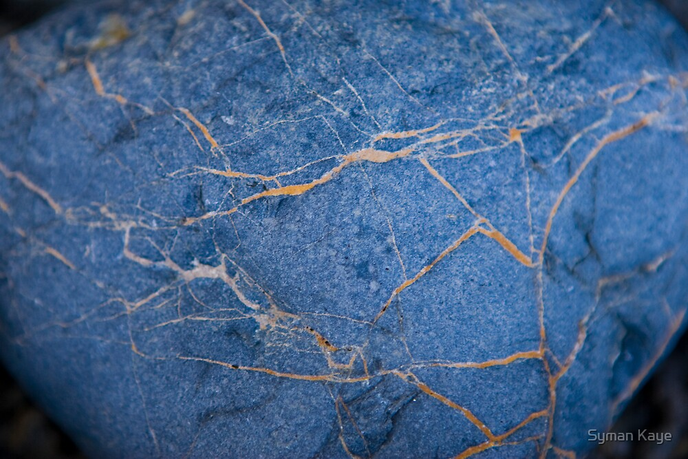 Blue and Yellow Rocks #2 by syman