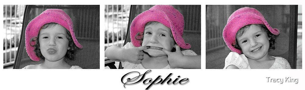 The faces of Sophie by Tracy King