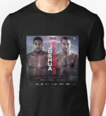 ANTHONY JOSHUA VS WLADIMIR KLITSCHKO OFFICIAL POSTER T-Shirt