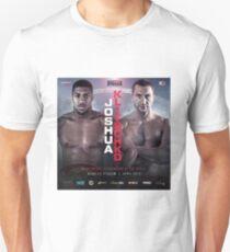 ANTHONY JOSHUA VS WLADIMIR KLITSCHKO OFFICIAL POSTER Unisex T-Shirt