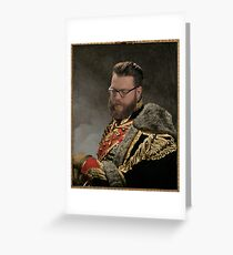 Soft Prince Regent, Travis Mcelroy Greeting Card