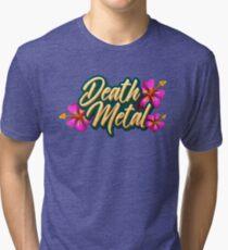 Death Metal Hawaii Tri-blend T-Shirt