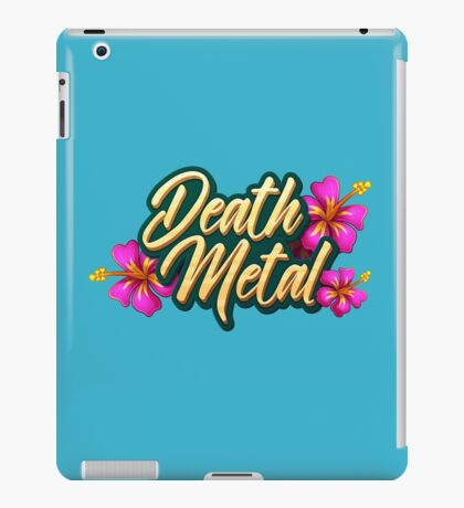 Death Metal Hawaii iPad Case/Skin