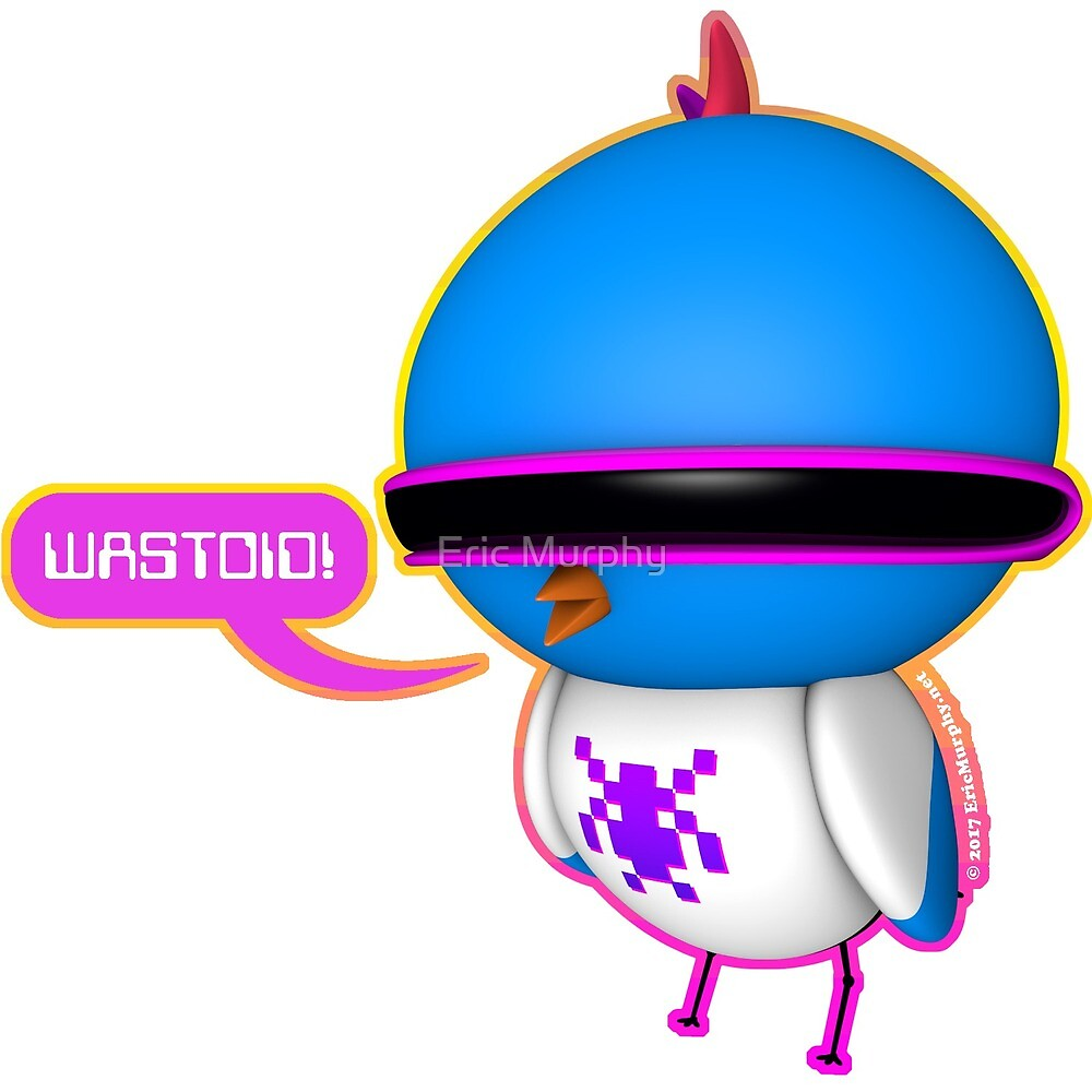 B.B. Buttons - Wastoid! by Eric Murphy