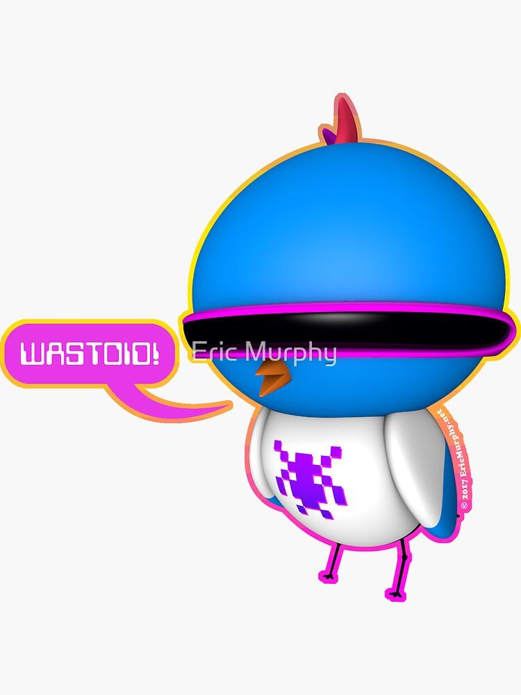 B.B. Buttons - Wastoid! by sadmachine