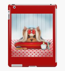 Yorkie Beauty iPad Case/Skin