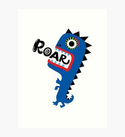 Roar Monster Art Print