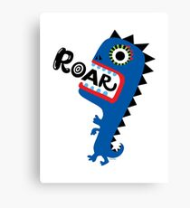 Roar Monster Canvas Print
