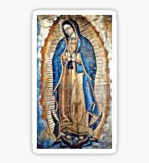 Virgen de Guadalupe; Our Lady of Guadalupe Sticker