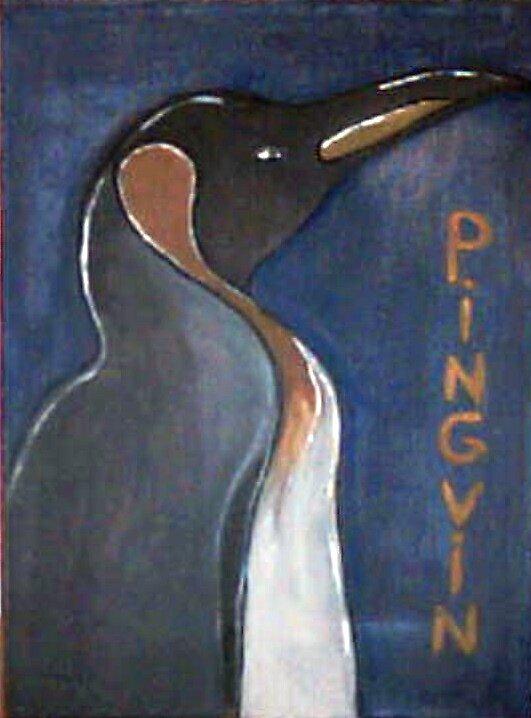 pingvin by heidihodk