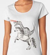 Raptor & Unicorn Women's Premium T-Shirt