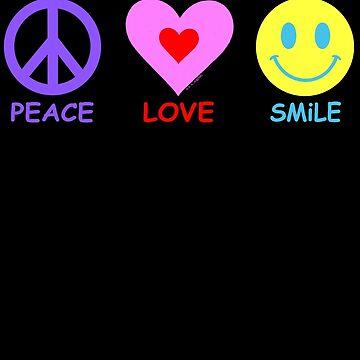 Peace Love Smile by ArtVixen
