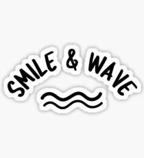 Smile Wave Sticker