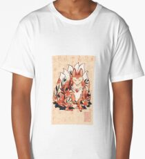 Kistune Ninetails Spirit  Long T-Shirt